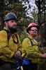 Wildland Firefighters on Day 7 of the Black Forest Fire Incident