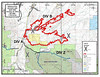 Wetmore Fire Map--October 24, 2012 from InciWeb. 350-380 people are displaced under evacuation orders that remain in effect this morning. 12 structures are destroyed. The fire is 0% contained.